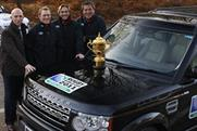 Land Rover: to sponsor Rubgy World Cups in 2011 and 2015