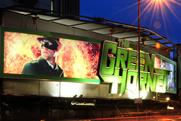 The Green Hornet: special build promotes the film on Cromwell Road