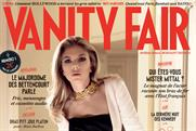 Vanity Fair France: has booked 42% ad pages for its first issue