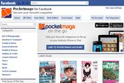 MagazineCloner: launches newsstand app for Facebook