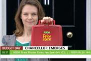 Asda: mock-Budget ad promotes Price Lock caqmpaign
