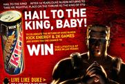 Kick Energy: partners with 2K Games to promote Duke Nukem Forever