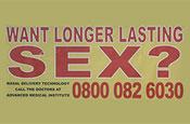Want longer lasting sex?: ASA bans ad
