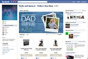M&S looks to Facebook to drive Father's Day gift sales