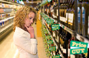 Alcohol: supermarkets in the frame