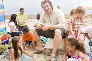 Jamie Oliver: fronts Sainsbury's British summer campaign
