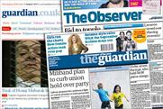 The Guardian: loses £38m as recruitment ads recede