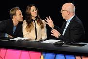 Superstar: judges Jason Donovan, Melanie C and David Grindrod