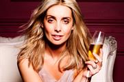 Eve: Carlsberg campaign with Louise Redknapp
