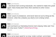 HMV: Twitter account hijacked