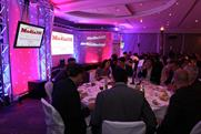 The Media360 gala dinner: too much for some media types