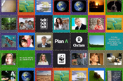 M&S online quilt: supporting climate change deal