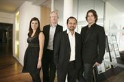 Euro RSCG: (l-r) Adams, Lidstone, Pankaj and Edwards