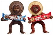 Jammie Dodgers: kicks off monkey campaign
