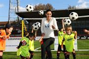 Kirsty Gallacher: the face of Beko's social media campaign last year