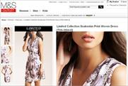 M&S: launches its discount Outlet format online