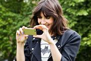 Daisy Lowe: in the Sony Ericsson HD smartphone campaign