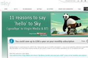 Virgin Media and Sky step up rivalry with 'reasons to switch' campaigns