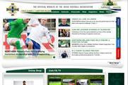 Irish FA: launches football game on Facebook