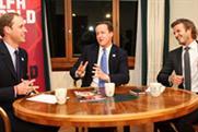 Prince William, David Cameron and David Beckham: back England's 2018 bid