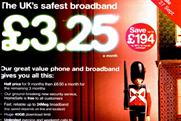 TalkTalk: ASA criticises UK's safest broadband' claim