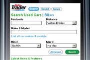 Auto Trader: smartphone app