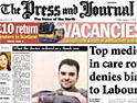 Aberdeen Press & Journal: DMGT fine reduced to £1m