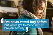 Tories: never voted Tory before campaign