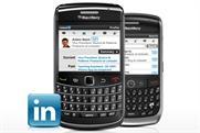 LinkedIn: launches BlackBerry app