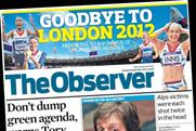 The Observer: increases cover price to £2.50