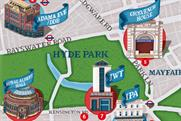 The new adland map of London