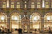 Apple's Regent Street store: the tech firm has won a victory in fight to protect brand