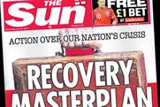 The Sun: backs Osborne
