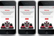 Hospitality app: from Vodafone McLaren Mercedes F1 team