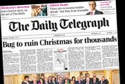 Daily Telegraph: biggest daily readership across print and web in the quality sector
