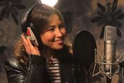 Ella's Kitchen: Rachel Stevens records songs for a children's album for the brand