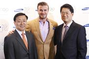 Beckham: new role for Samsung