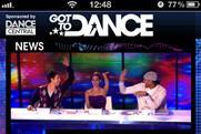 Mobile voting: Sky's Got To Dance app