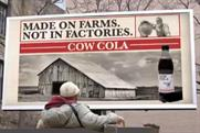 Cow Cola: launches next week