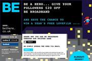 BE Broadband: launches Twitter referral drive