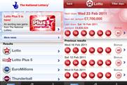 Lottery app hits number two in the BR  app chart