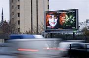 BSkyB is a top ten outdoor advertiser