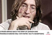 Citroën: latest campaign uses footage of John Lennon