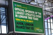 The outdoor ad at the centre of the controversy