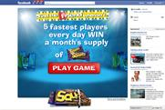 Rice Krispies Squares Facebook game