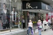 Shoppers have flocked to BHS since it went into administration