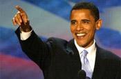 Obama: blazing a campaigning trail