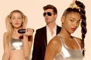 Robin Thicke: stars in Beats Pill campaign