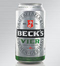 Beck's launches 4% Vier with packs by Futurebrand