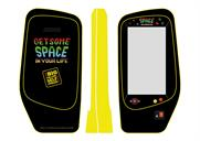 The Big Yellow Self Storage Company: ad campaign features Space Invaders with a twist